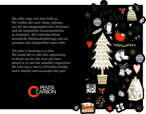 Merry Christmas A Happy New Year Pentacarbon Gmbh